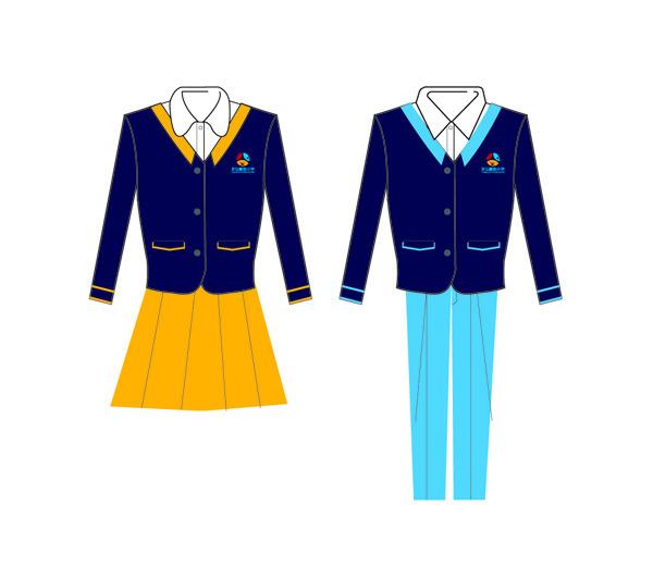 小学生校服设计图案