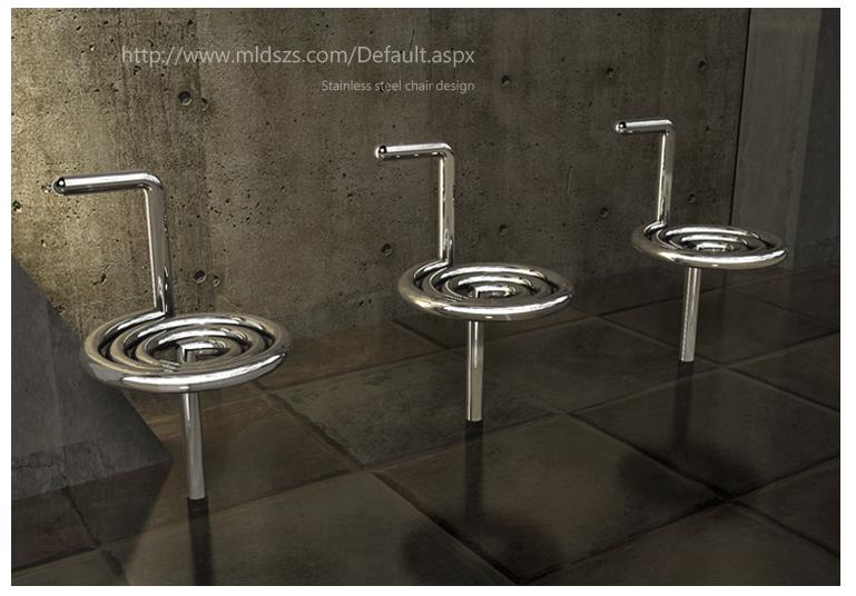 不锈钢椅子设计