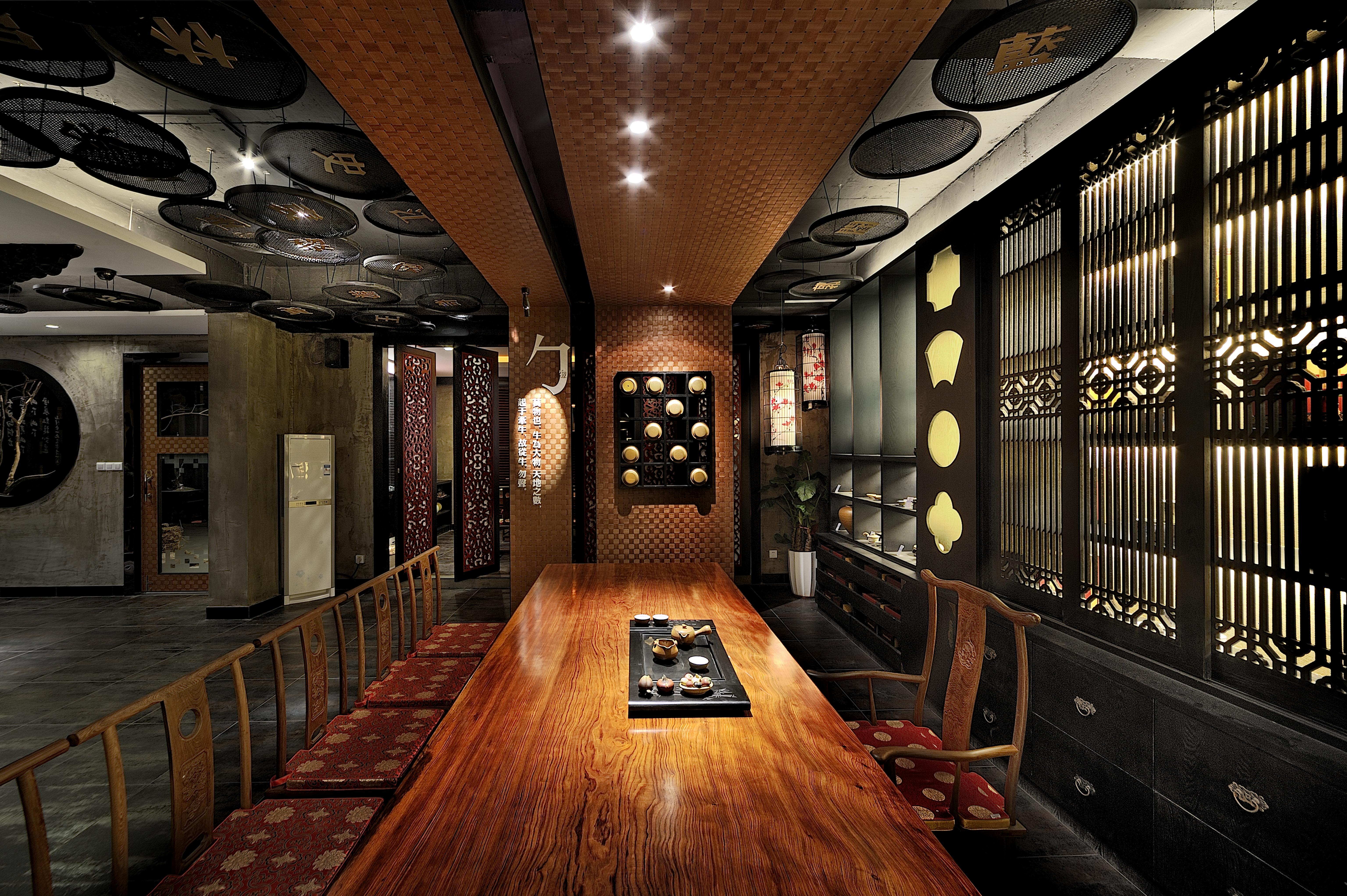 印象客家装修图片; 印象客家餐饮设计; 福州印象客家庭院景观设计