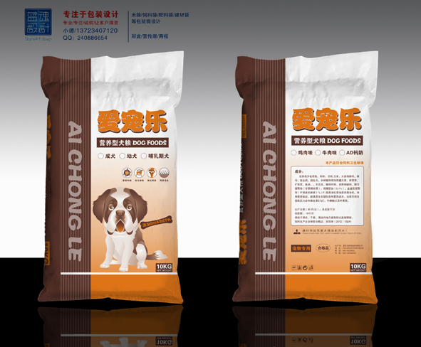 几款饲料袋包装_食品_包装_原创设计 专业设计网 - 红