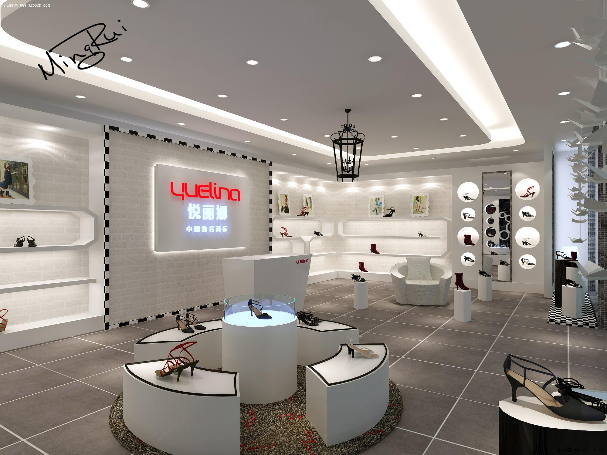 承接专卖店,展柜,家装效果图及设计!_卖场|展厅|陈列