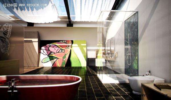 蝴蝶式概念住宅设计欣赏