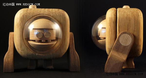 木头机器人创意欣赏 高清图片