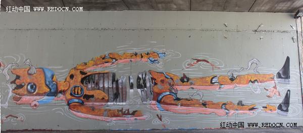 创意墙绘涂鸦