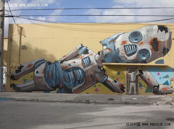 创意墙绘涂鸦_其他广告