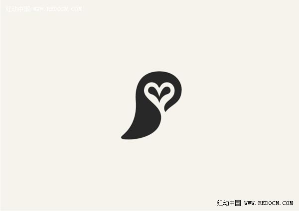 可爱的动物logo设计_标志