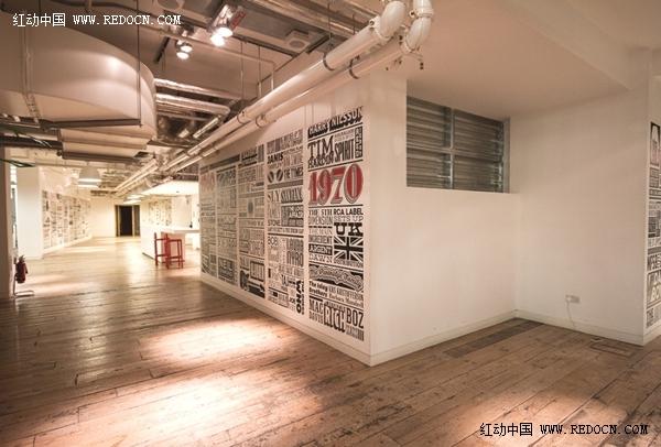 伦敦索尼音乐时间轴室内设计欣赏