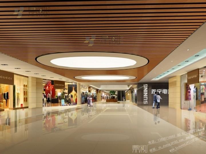 西安万达商业广场效果图设计