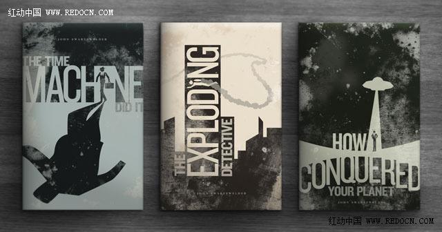 国外创意书籍封面欣赏