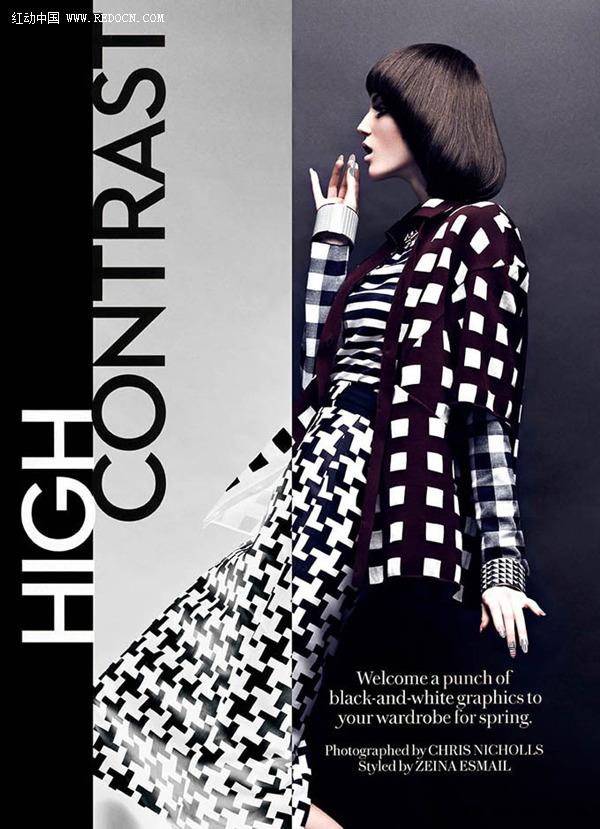 chris nicholls时尚杂志封面人物摄影