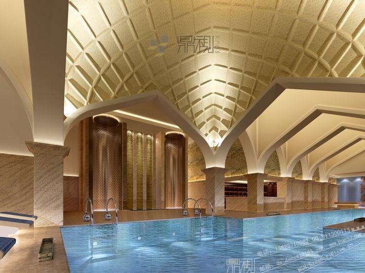 狮子湖喜来登酒店效果图设计_建筑|室内|空间_建模