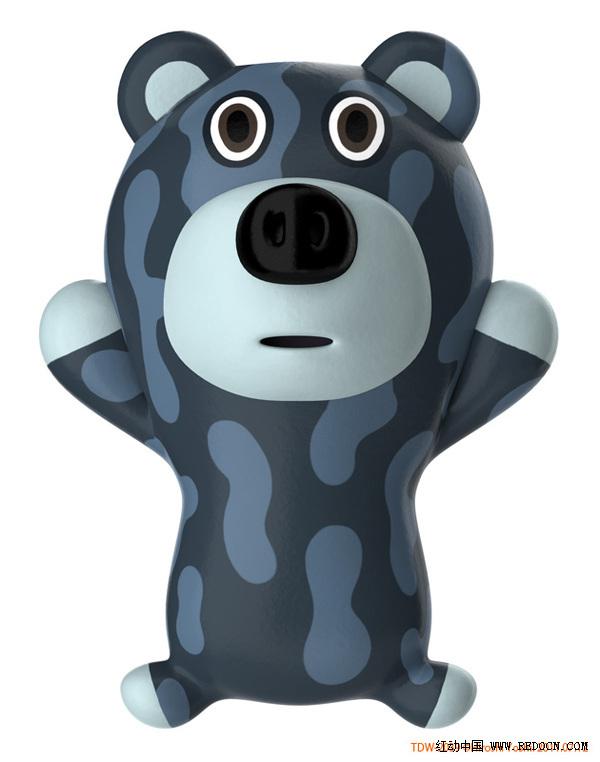 可爱卡通动物造型_文具|玩具