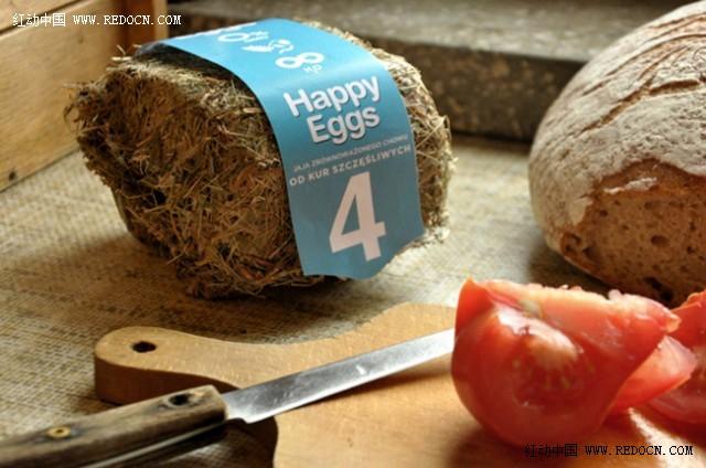 创意原生态鸡蛋包装设计_生活用品_工业/产品_佳作 第