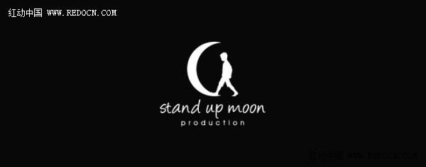 跟月亮有关系的logo设计欣赏