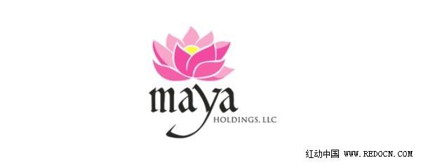 分享一些与莲花有关的logo设计
