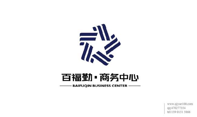 百福勤上午中心标志设计.jpg