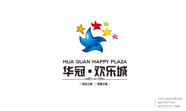 华冠欢乐城标志设计.jpg
