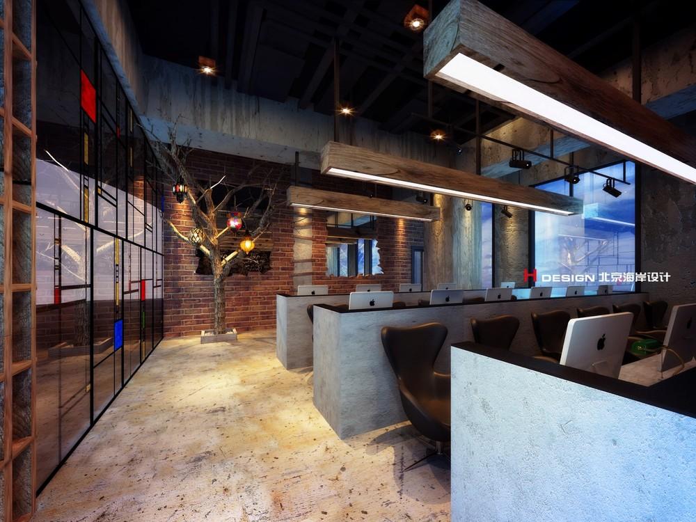幸福海岸将办公室搬进咖啡馆! 长久在重复同样的环境中工作难免疲乏,所以重新设计办公室不单从功能上满足员工的日常需要,更能进一步激发他们工作的灵感和创意。名为幸福海岸的设计项目,由北京海岸设计团队与上海小美办公室合作完成,力求打造一个可以更加振奋人心和促进效率的办公空间,从而激发员工的工作热情、思维和创造力。