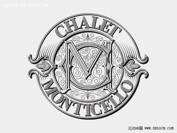 国外手绘logo欣赏_标志