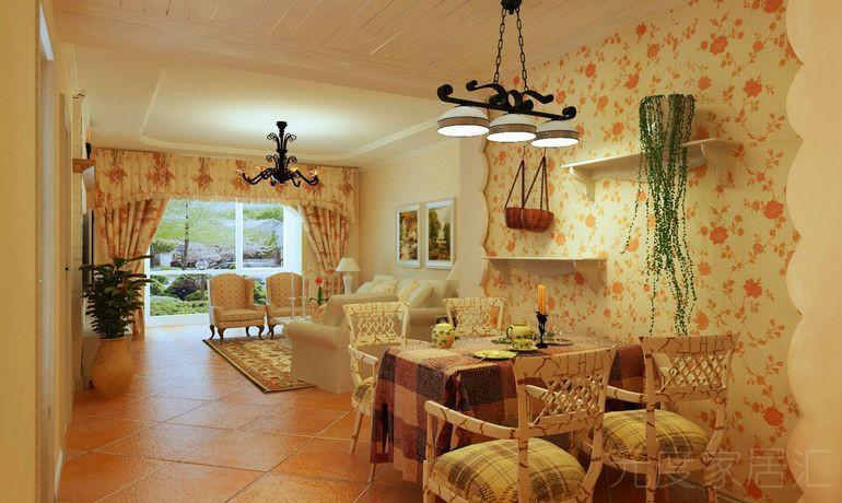 温馨田园风装修|成都专业家装|成都专业室内设计 家,温暖的高清图片