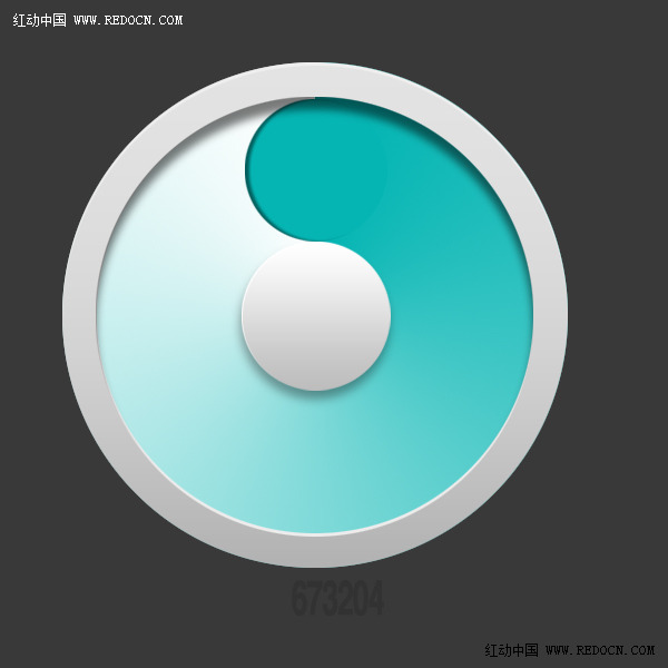 ps教程!手把手教你绘制炫彩立体圆环图标(一)