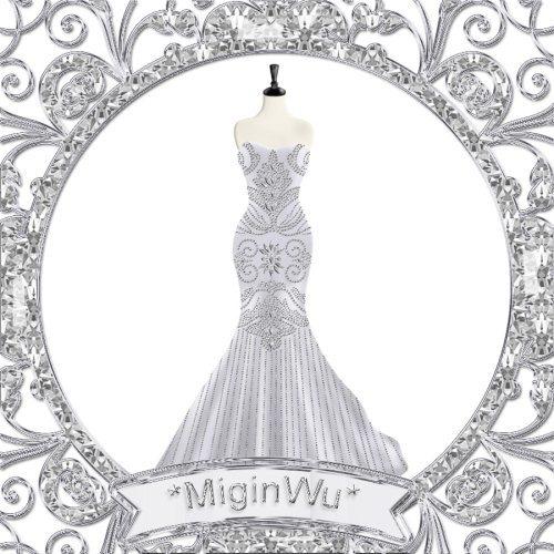 宫廷闪钻婚纱设计效果图服装