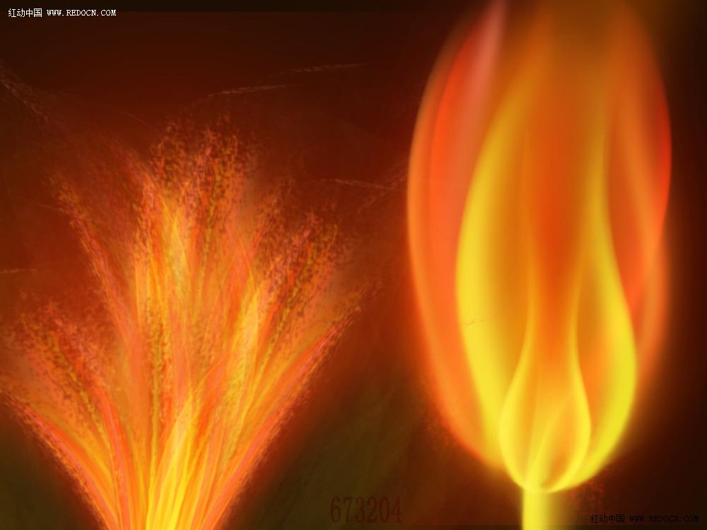 picsart素材小火焰