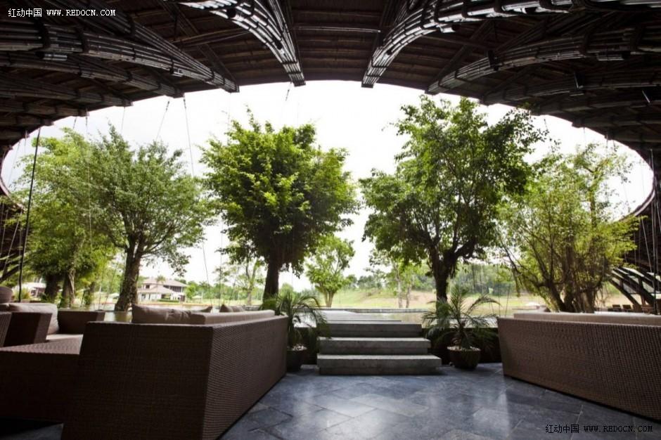 露天餐厅 室内设计 空间 建筑 佳作欣赏