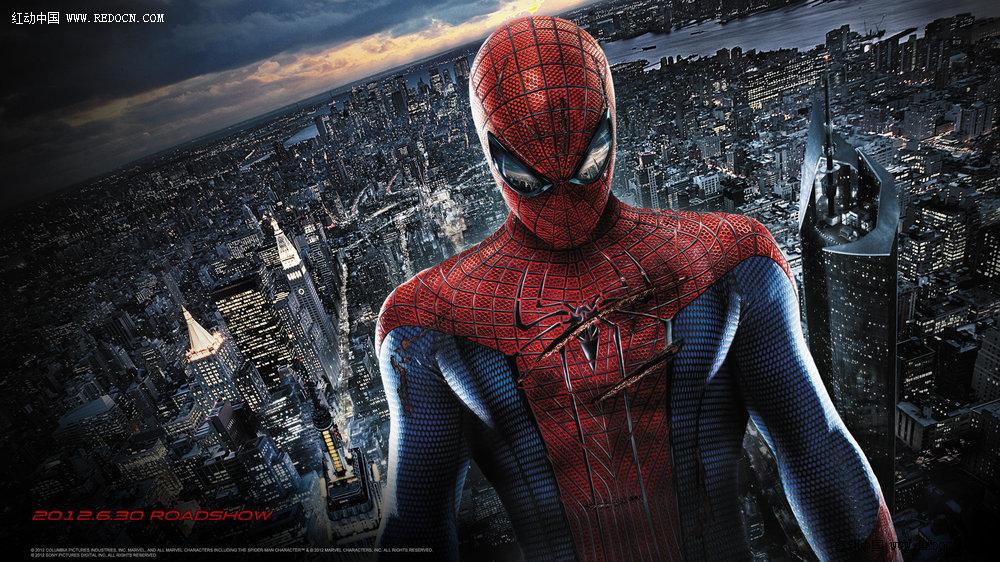 蜘蛛侠背景城市素材求助_红动知道 第一设计网 - 红动