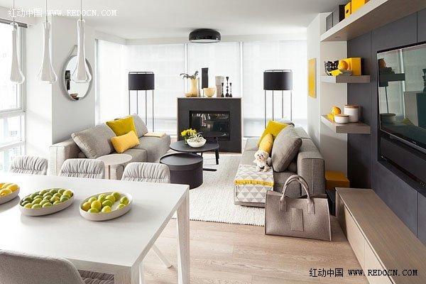 温哥华现代简约风格公寓设计 室内设计 空间 建筑 佳作欣赏
