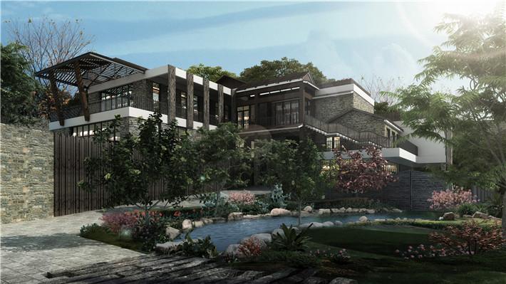 广西仙草堂创意产业园设计_建筑|景观|园林_空间/建筑