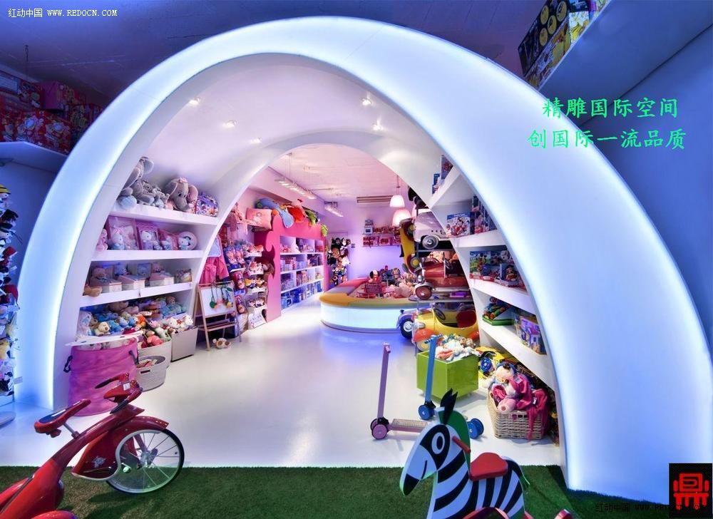儿童玩具店室内设计黄金法则_卖场|展厅|陈列_空间