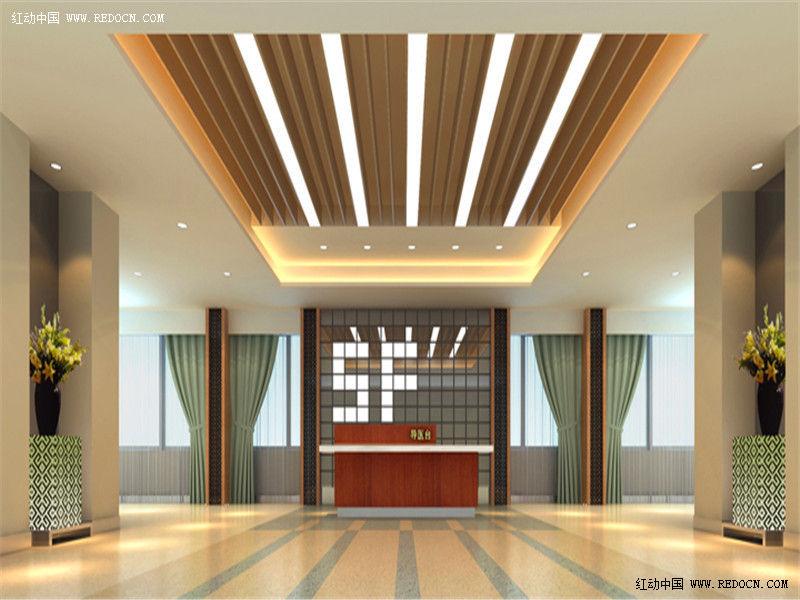 成都医院室内装修装饰的基本原理高清图片