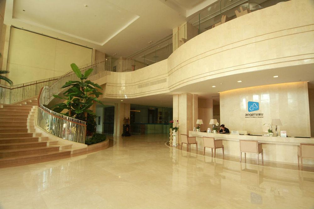 四川品牌医院设计装修公司哪家实力强 医院门诊大厅装修设高清图片