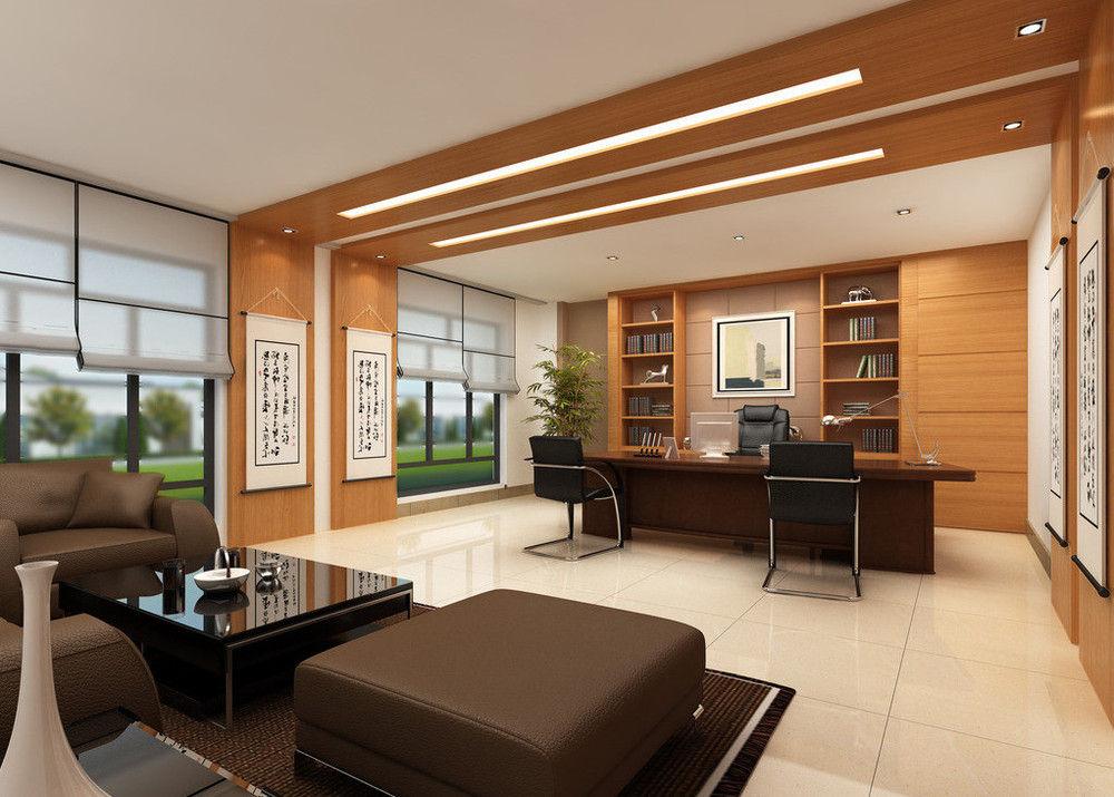 四川中式办公室装修设计图片