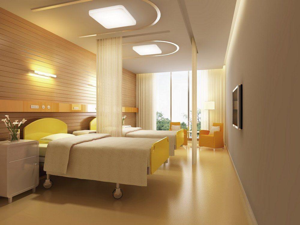 广元医院装修设计广元医院诊所设计 妇产医院住院部如何装修设计高清图片