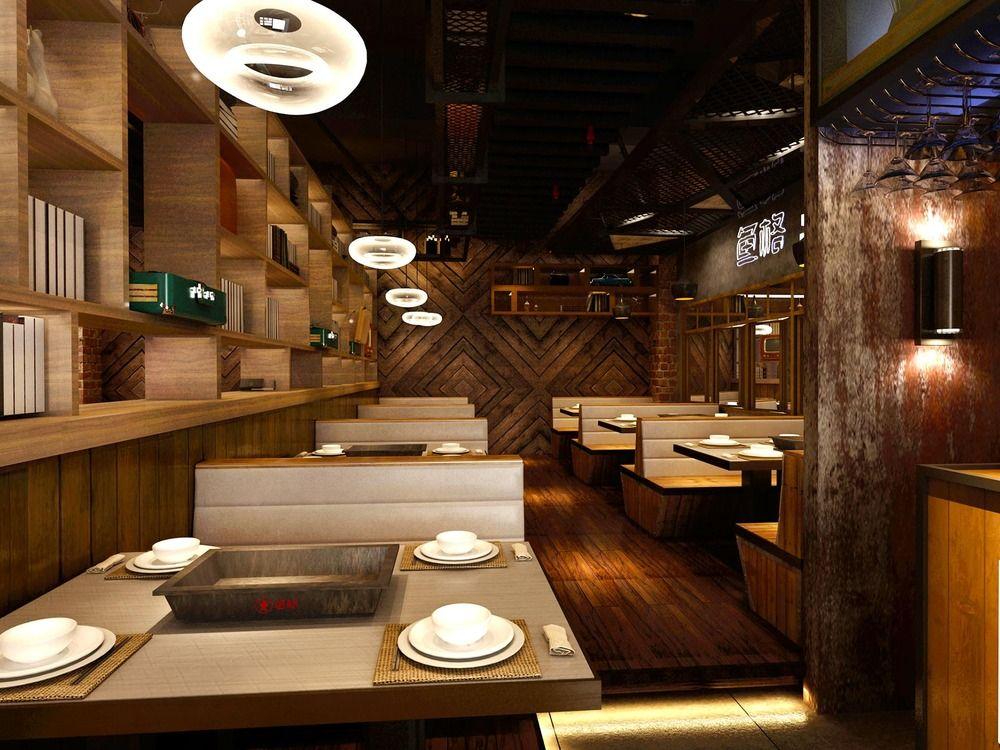鱼格-成都主题餐厅烤鱼店烧烤店装修设计