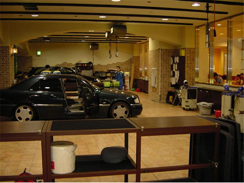 最专业的汽车美容店装修设计公司|成都汽修店装修