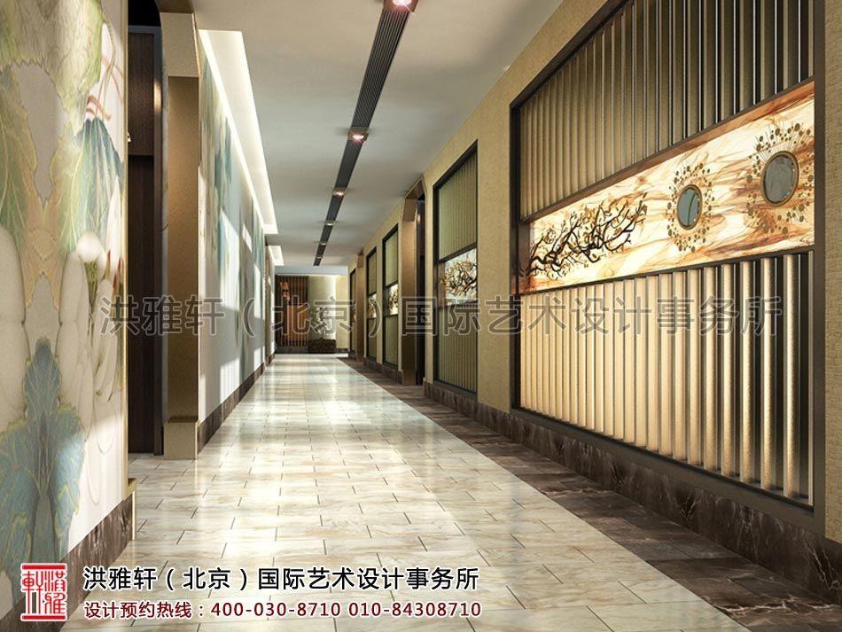 江苏茶楼新中式装修风格效果图 建筑 景观 园林 空间 建筑