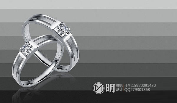 18K镶钻石情侣对戒珠宝摄影.jpg