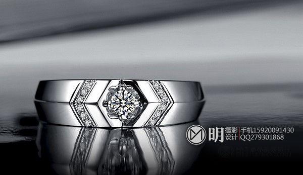 18K镶钻石戒指场景图珠宝摄影.jpg