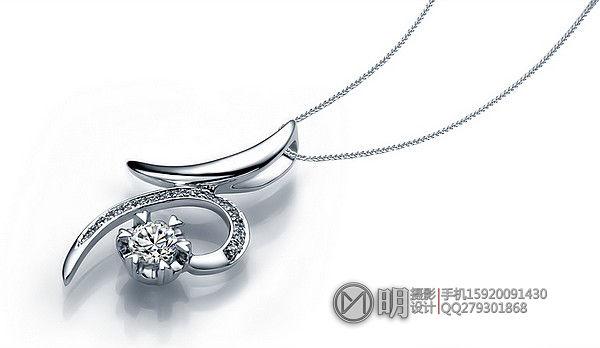 18K镶钻石吊坠(大陆款)珠宝摄影.jpg