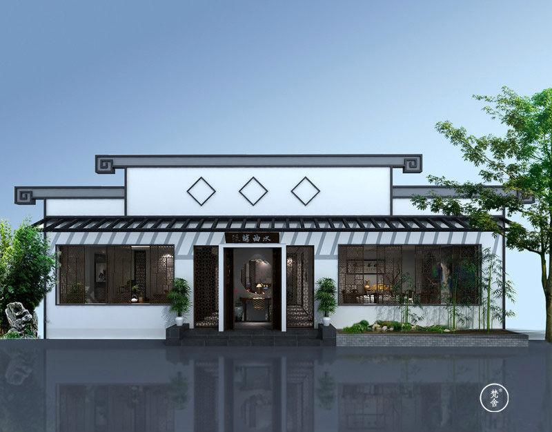 中式私人会所设计作品——苏派建筑风格
