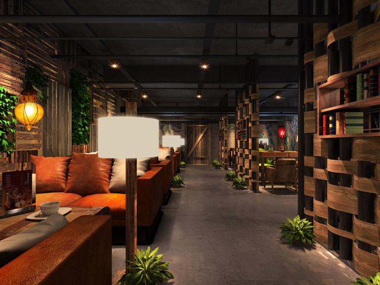 主题餐厅设计赏析------萧红文化艺术中心