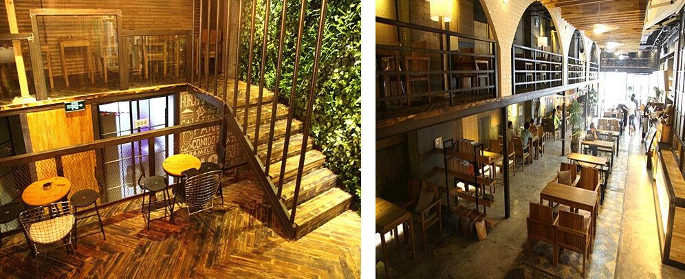 新中式西餐咖啡厅装修设计案例