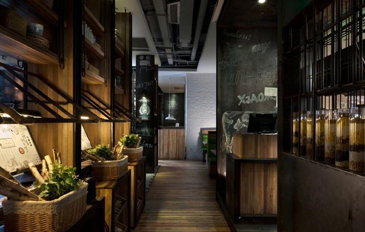 主题餐厅设计案例赏析------小米餐厅