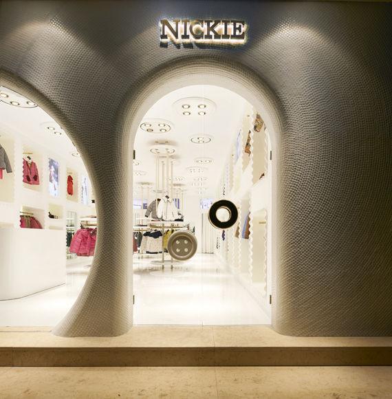 个性连锁私人品牌童装形象店设计公司 儿童服装店闪装修预算案例 其