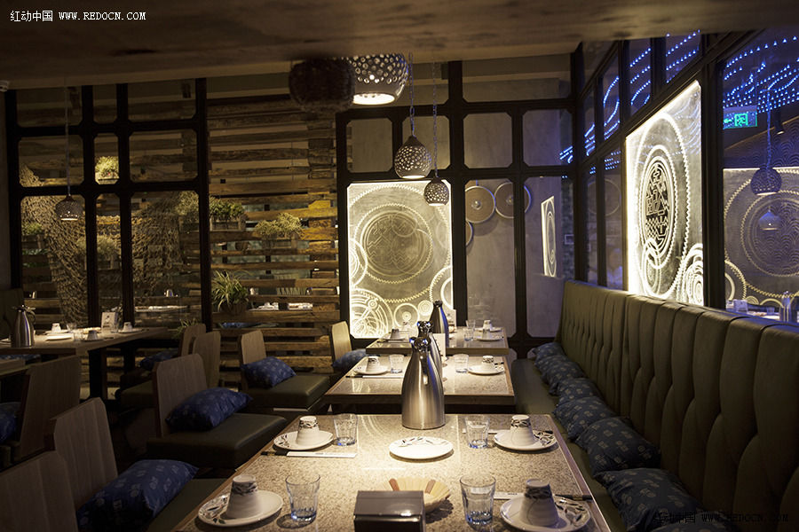 03 主题餐厅设计-江边城外北京酒仙桥店-杭州象内文化创意有限公司