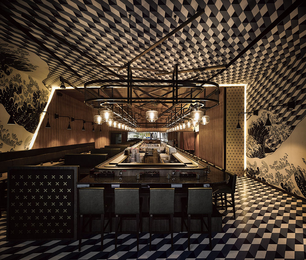 海洋主题餐厅设计 海洋主题寿司店设计