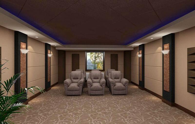 成都电影院装修设计公司前十强 成都电影院装修设计公司 室内设计 空